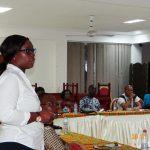 Rotarian Nina giving her Classification Talk
